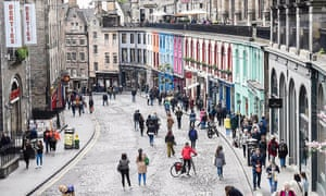 A relaxed, welcoming and 'open' Victoria Street as the first #openstreets takes place in the Capital.