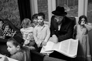 The Telsner family, Stamford Hill, 1981