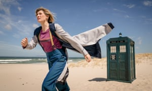 Jodie Whittaker gets to grip with a global threat and a strong sea breeze.