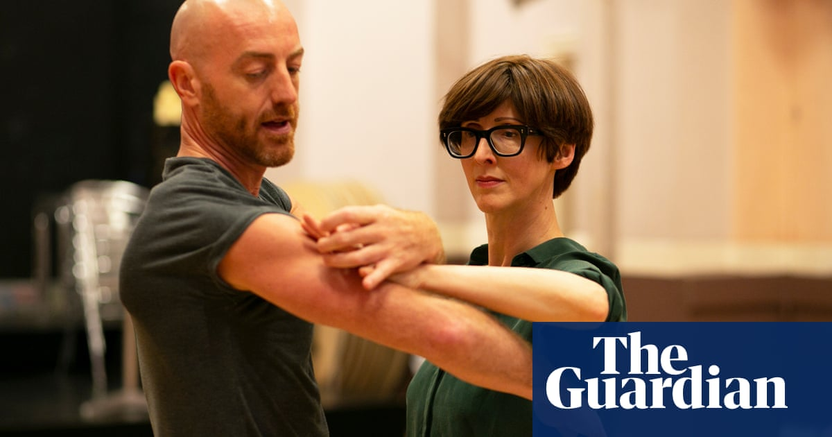 Emma Beddington tries … ballroom dancing: 'This is the closest I have been to a stranger in a while'