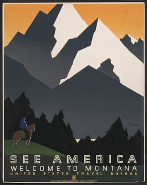 Vintage Posters Of America S National Parks In Pictures Environment The Guardian