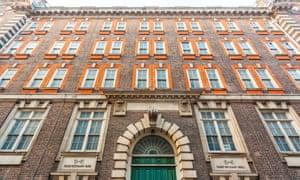 Scotland Yard, original headquarters of the Metropolitan police.