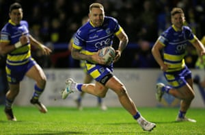 Warrington's Blake Austin is absent because of an ankle injury but there is speculation he could yet play in Saturday's final.