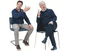 Nobel prize winner Richard Thaler and former Lib Dem leader Nick Clegg
