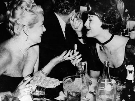 Lana Turner and Ava Gardner, with whom Bowers claims to have had a threesome