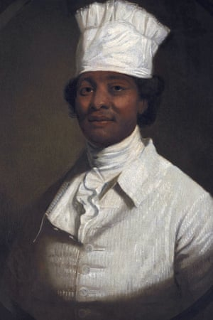 A painting of George Washington's cook (traditionally identified as Hercules).