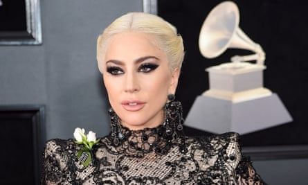 Lady Gaga at the Grammys in January 2018.
