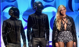 Beyoncé and Daft Punk at the Tidal relaunch event