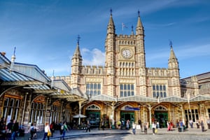 Bristol Temple Meads railway station.