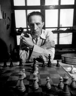 "Marcel Duchamp: 'While all artists are not chess players,"" he said, ""all chess players are artists.'"