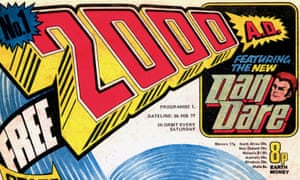 40 years of 2000AD: looking back on the future of comic