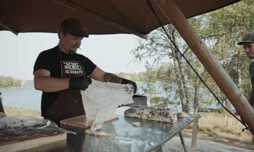 The Saemien Beapmoe Lapland food stall