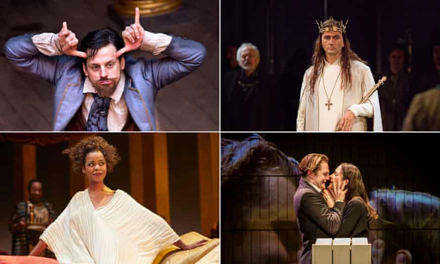 Love's Labour's Lost by Deafinitely Theatre, David Tennant as Richard II, The Winter's Tale at the Barbican and Josette Simon as Cleopatra.