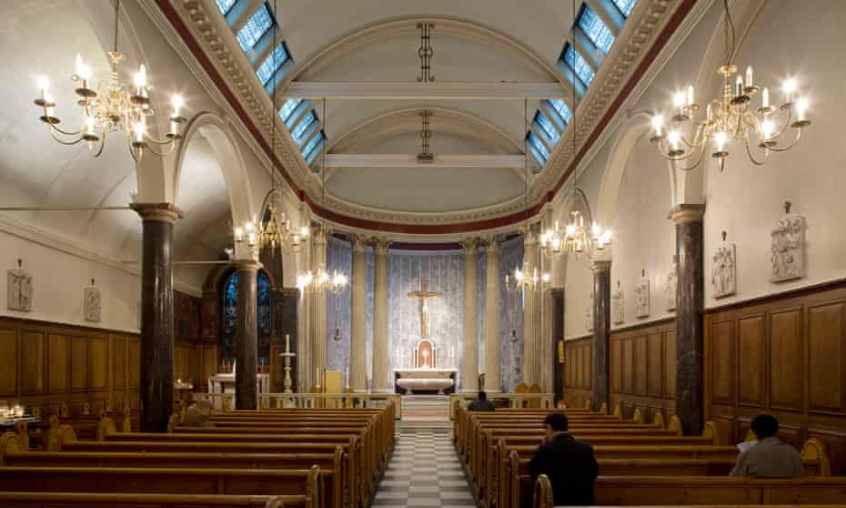 Solitude and soul … St Mary Moorfields, the City of London.
