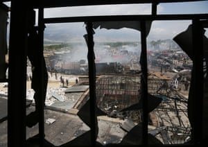 Kabul, AfghanistanThe site of a fuel tanker explosion that killed at least four people