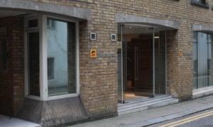 Bureau de Sonangol à Brompton Place, Londres
