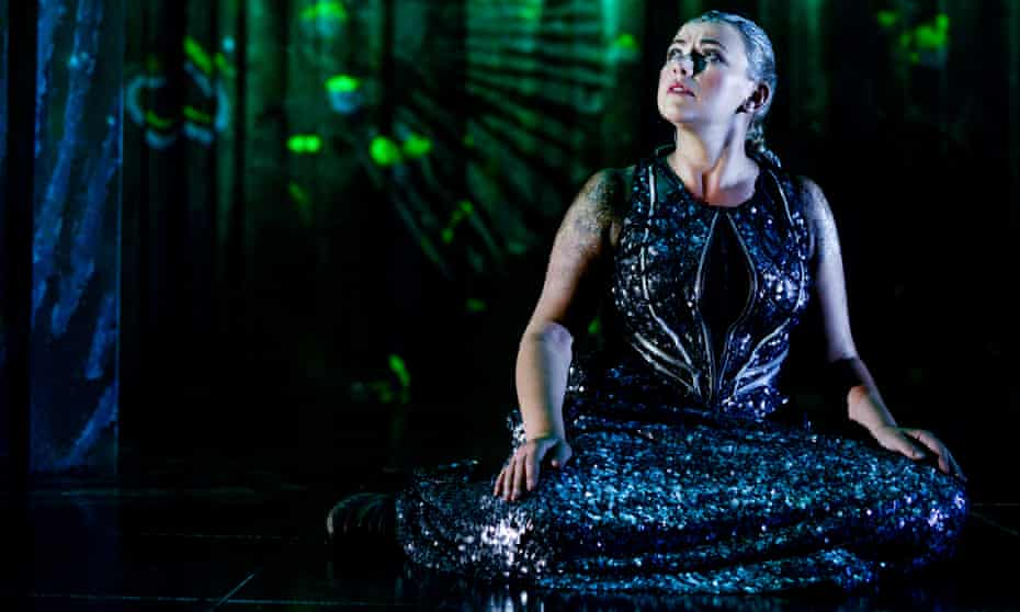 Thrilling performer … Charlotte Church in The Last Mermaid.