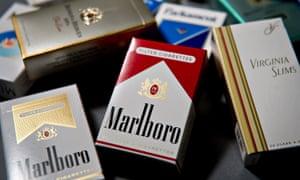 Various brands of Philip Morris International Inc.