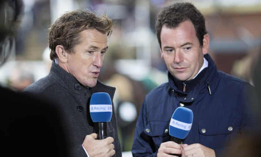 AP McCoy and Nick Luck on Channel 4 Racing