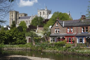 Ripon: 'An independent city of ancient history and modern twists.' Photograph: Alamy