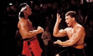 Bloodsport, starring Jean Claude Van Damme