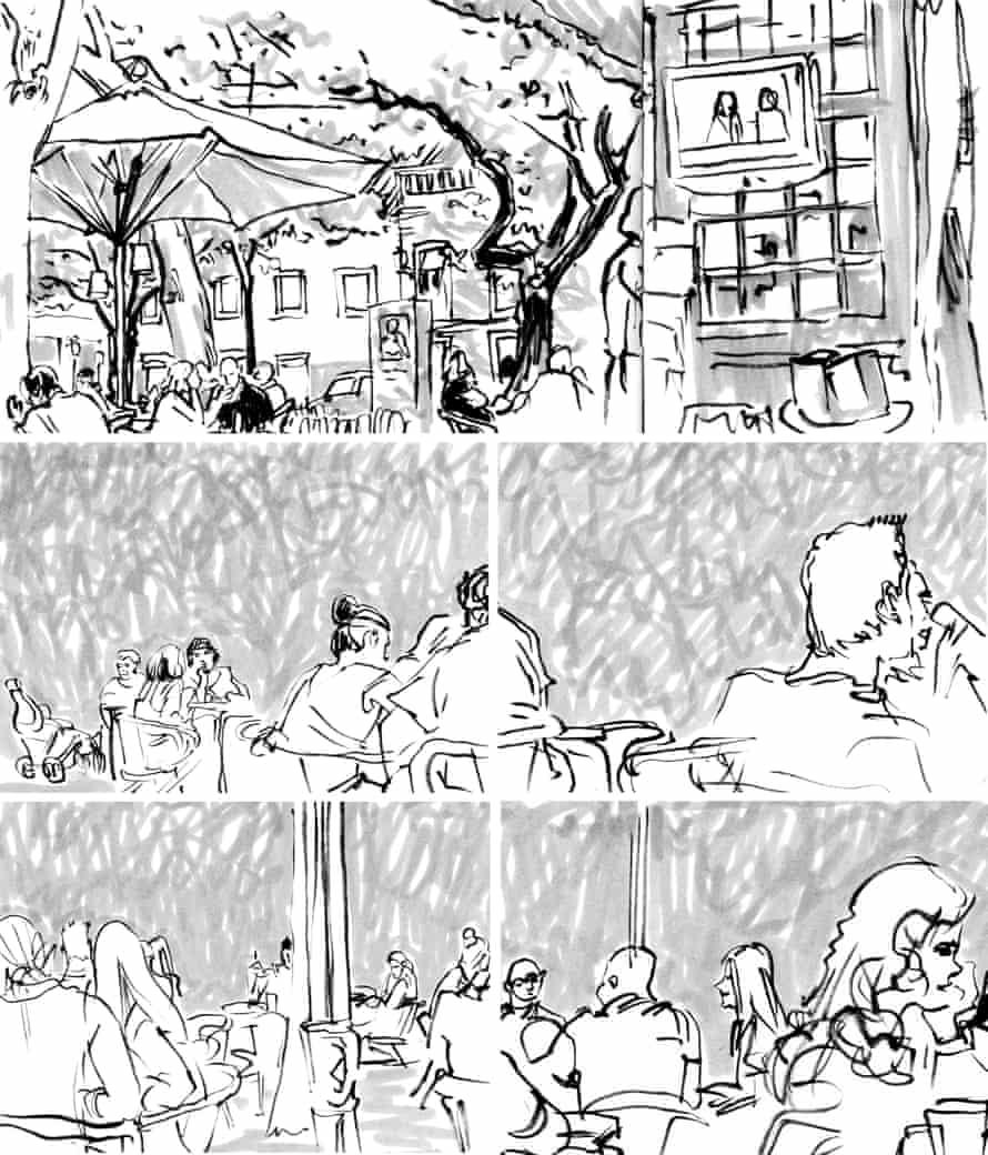 Lisbon text draft with pictures-cópiaLate afternoon, Jardim das Amoreiras
