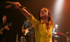 Juliette Lewis performs onstage at The Best Fest Presents Fleetwood Mac Fest at the Fonda theatre in Los Angeles.