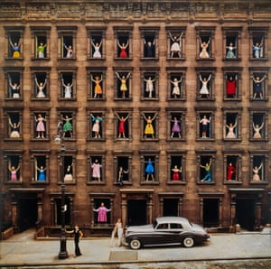 "Ormond GigliGirls in Windows, New York City, 1960""I have a big print of it up on my wall. I still smile whenever I look at it, even after all these years. Not bad"" Ormond Gigli Est $30,000 - 50,000"