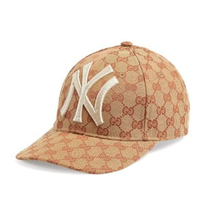 Gucci's £315 version of the cap.