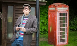 'You occasionally get a slightly over-protective vicar' … Darren Hayman in Maplebeck, Nottinghamshire.