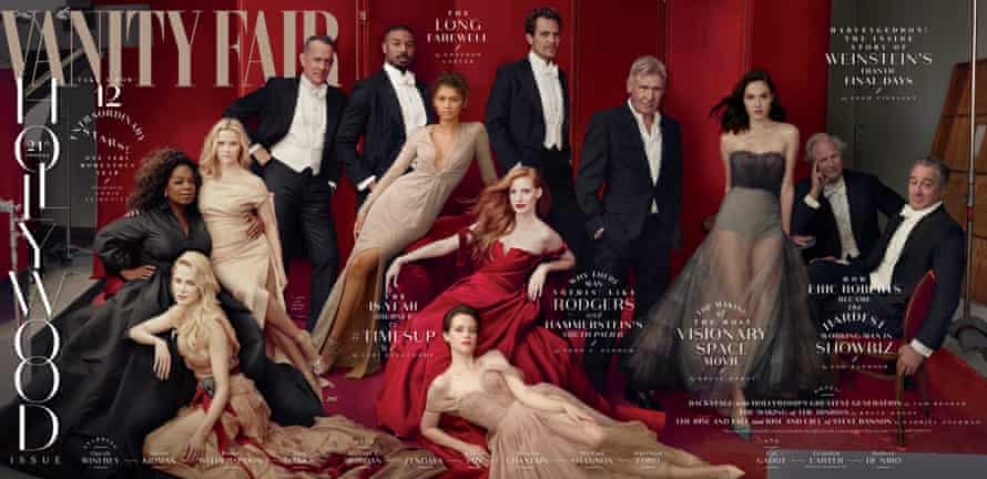 The Hollywood issue cover.