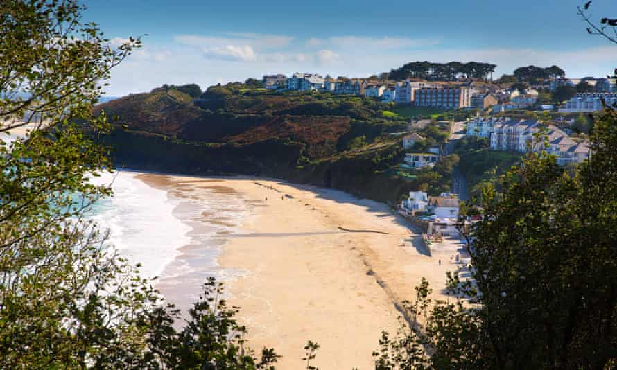 Carbis Bay near St Ives, Cornwall