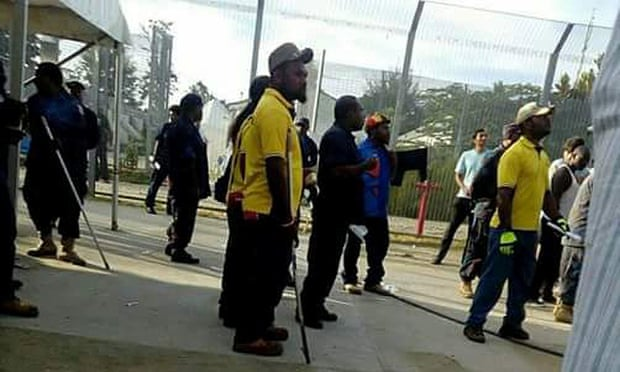 theguardian.com - Ben Doherty - Manus Island police use long metal poles to beat refugees and asylum seekers