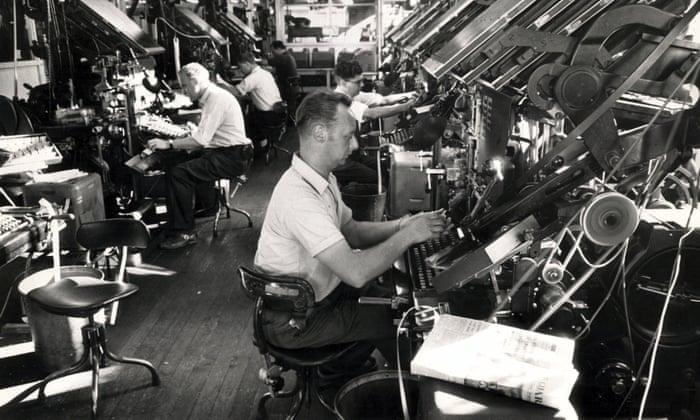 Making headlines: printing the Guardian newspaper, 1921-1987