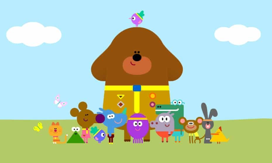 Hey Duggee is also part of the interactive show at CBeebies Land at Alton Towers.