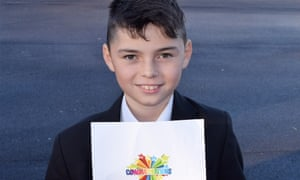 Caiden Clift, winner of the Young Journalism Prize 2017