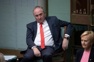 Barnaby Joyce during question time