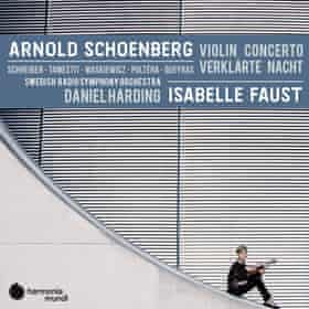 Isabelle Faust and Swedish RSO: Schoenberg: Violin Concerto; Verklärte Nacht album art work