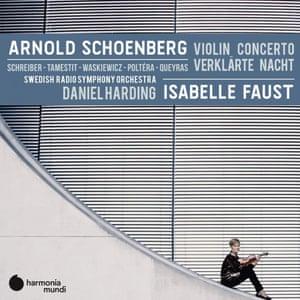 Isabelle Faust and Swedish RSO: Schoenberg: Violin Concerto; Verklärte Nacht album art work