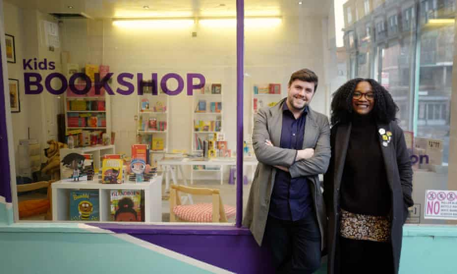 'The first time round it was just to make noise about the report, this time it is inclusion across culture' … David Stevens and Aimée Felone.
