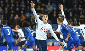 Érik Lamela returned for Tottenham at Leicester on Tuesday and set up a goal for Harry Kane.