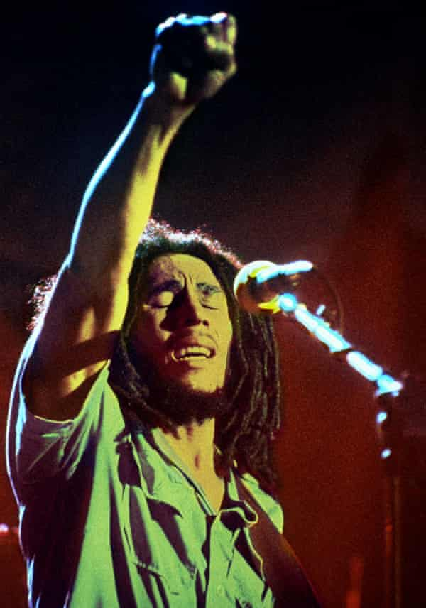 Seductive truths … Bob Marley.