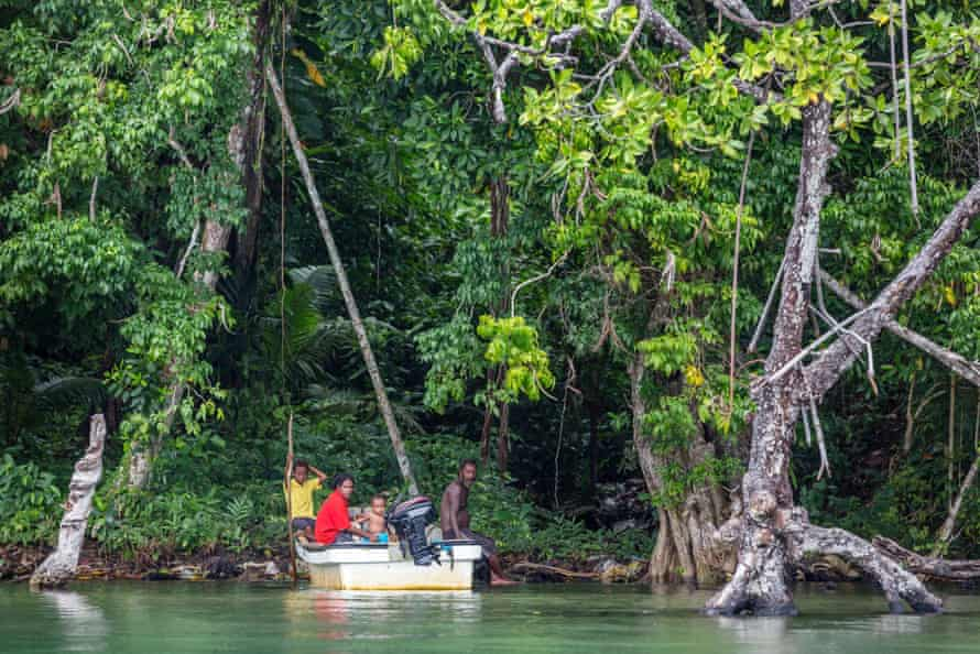Manus, with its crystal clear water and a friendly population could have been a tourist destination.