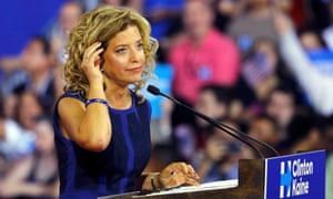 Debbie Wasserman Schultz is the former head of the DNC.