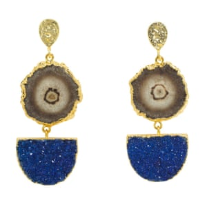 Earrings, £49, by Yaa Yaa London, from wolfandbadger.com.