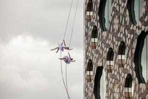 Catalan ballet dancers perform at Ravensbourne University