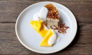 Duck-egg custard.