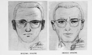 A police sketch of the Zodiac killer.