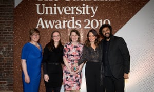 Student experience award (sponsored by Jisc) winner: Newcastle University Newcastle's psychological therapies training and research clinic supports students with anxiety and depression