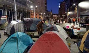 Martin Place tent city